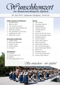 Wunschkonzert 2019
