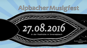 Musigfest 2016 Banner